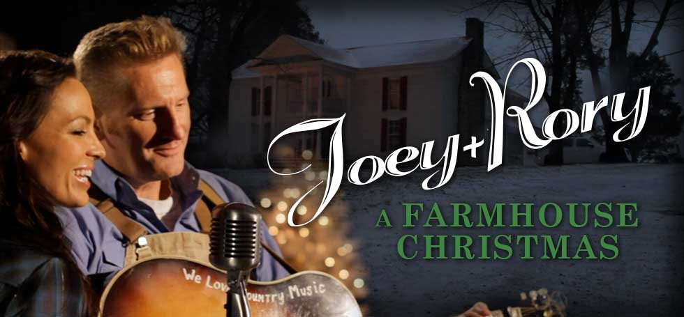 Joey + Rory, A Farmhouse Christmas